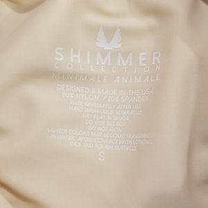 Minimale Animale Swim - 💕MINIMALE ANIMALE💕 Shimmer Bikini Set ~ Platinum